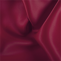 Dark Red Silk Satin Organza