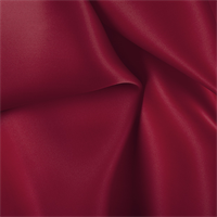 Red Silk Satin Organza