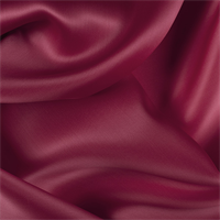 Antique Red Silk Satin Organza