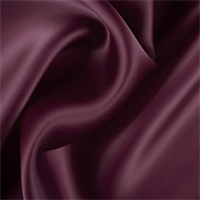 Wine Silk Satin Organza