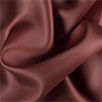 Rust Silk Satin Organza