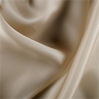 Camel Silk Satin Organza