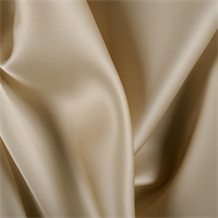 Antique Gold Silk Satin Organza