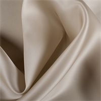 Bronze Silk Satin Organza