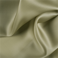 Avocado Silk Satin Organza