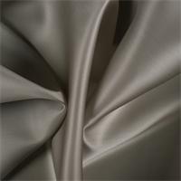 Taupe Silk Satin Organza