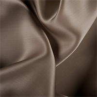 Latte Silk Satin Organza