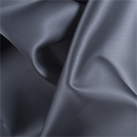 Gray Silk Satin Organza