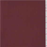 *1 1/2 YD PC--Brick Red Crinkle Faille