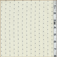*2 1/2 YD PC--Cream Cotton Canvas