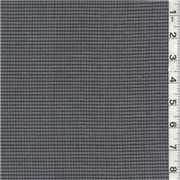 *1 YD PC--Navy Blue/Gray Blue Wool Suiting