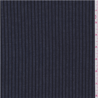 *8 YD PC--Navy Blue/Black Stripe Denim