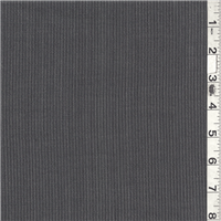 *1 YD PC--Charcoal Wool Suiting