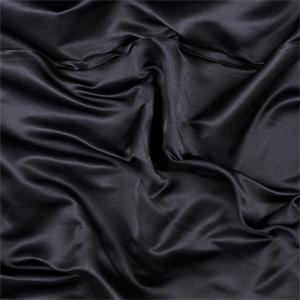 Black Silk Duchess Satin 9500m26 Discount Fabrics