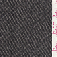 *2 1/2 YD PC--Charcoal Grey Wool Jacketing