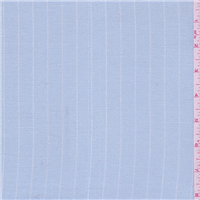 *1 1/2 YD PC--Light Blue Stripe Linen Suiting