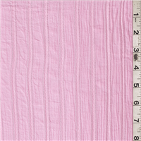 *2 3/8 YD PC--Pink Stripe Gauze