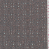 *1 YD PC--Pewter Grey Diamond Tapestry