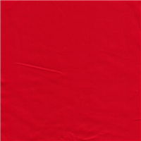 *4 1/2 YD PC--Red Stretch Sateen