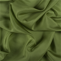 *1 1/2 YD PC--Apple Green Silk Habotai
