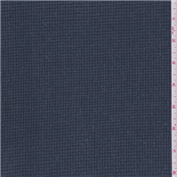 *2 3/4 YD PC--Gunmetal Blue Wool