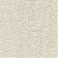 *2 3/4 YD PC--Cream/Grey French Terry