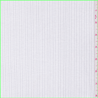*1 1/2 YD PC--White Poorboy Knit