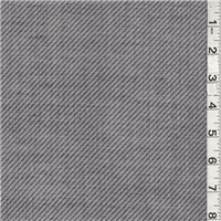 *4 3/8 YD PC--Navy Blue/Light Gray Wool Suiting