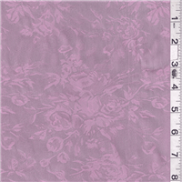 *3 YD PC--Rose Pink Satin Jacquard