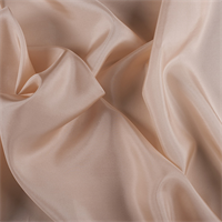 *1 YD PC--Bisque Silk Habotai