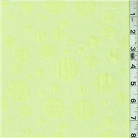 *1 1/2 YD PC--Lime Green Dot Lawn