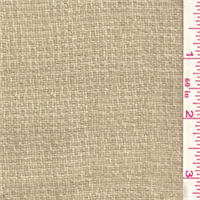 *3 1/2 YD PC--Blush Tan Wool Jacketing