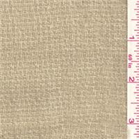 *3 1/2 YD PC--Blush Tan Wool Jacketing