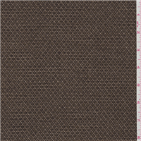 *2 3/4 YD PC--Brown Wool Tweed Jacketing