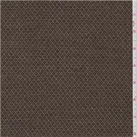 *2 3/4 YD PC--Brown Wool Tweed Jacketing