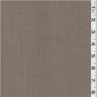 *2 3/4 YD PC--Brown/Dark Beige Plaid Suiting