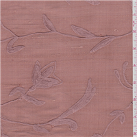 *1 YD PC--Terra Cotta Pink Silk Dupioni