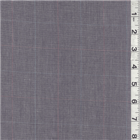 *1 1/2 YD PC--Dark Purple/White Plaid Shirting